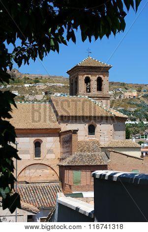 El Salvador church, Granada.