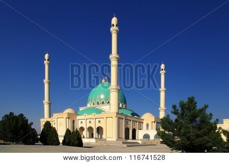 Mosque In Geok Depe.Turkmenistan