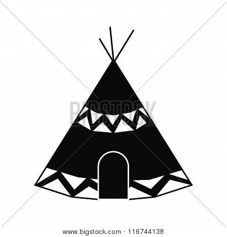 Indian tent icon