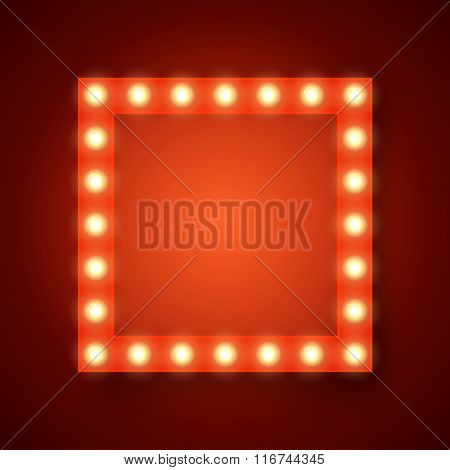 Vector realistic 3D light background