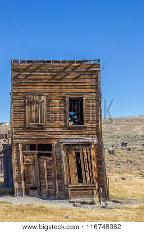 Old House In Bodie State Park