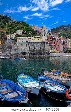 Vernazza Village - Cinque Terre - Italy