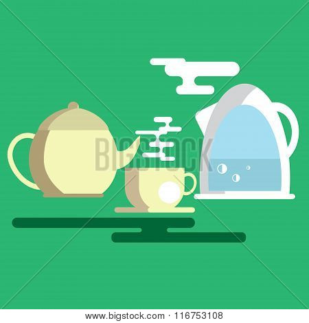 The Process Of Tea Drinking