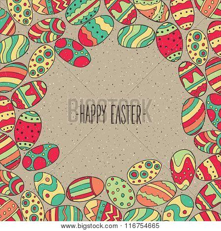 Frame From Easter Eggs