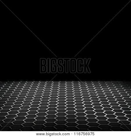 empty metal design background