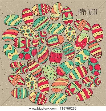 Many Easter Eggs