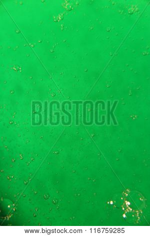 Viscous Green Liquid
