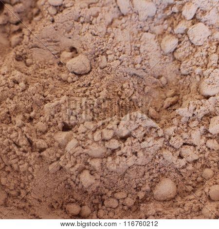 Hot Chocolate Powder Close Up