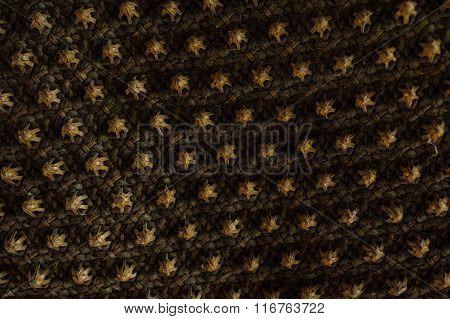Retro Woven Wood Pattern Background
