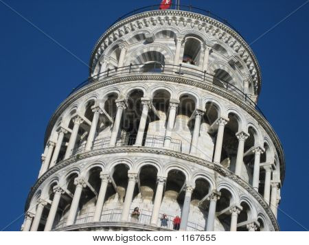 Closeup, Tower Of Pisa, Italy