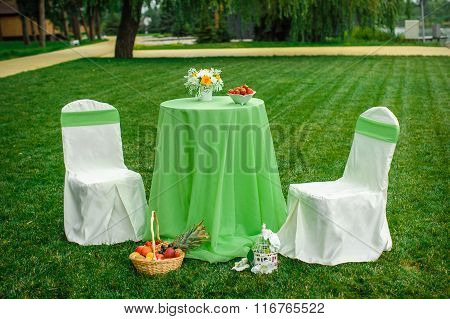 Beautiful Decor For The Wedding Ceremony