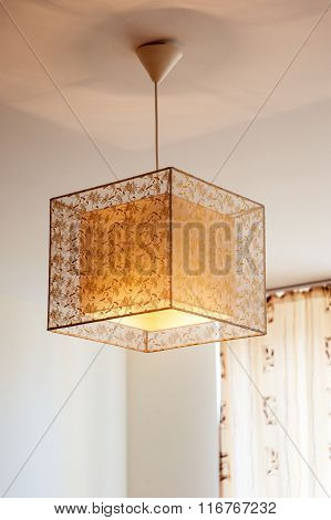 Beautiful Lamp On The Ceiling
