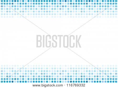 Abstract blue shiny circles background. Vector design