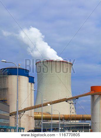 Thermal power plant, Czech Republic