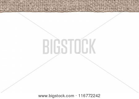 Textile Pattern, Fabric Style, Buff Canvas, Color Material, Blank Background