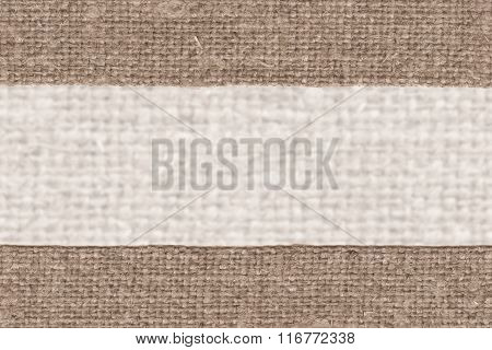 Textile Frame, Fabric Interior, Buff Canvas, Rope Material, Braided Background