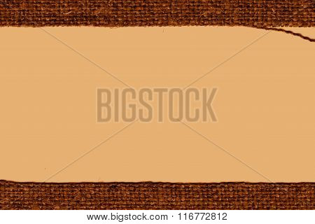 Textile Backdrop, Fabric String, Ochre Canvas, Stylish Material, Home Background