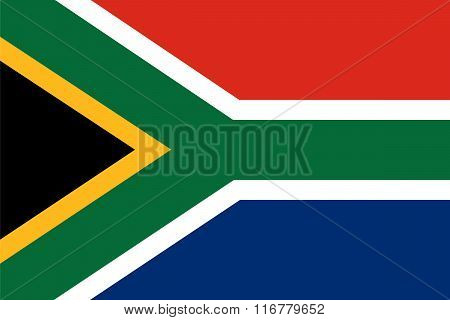 Standard Proportions For South Africa Flag