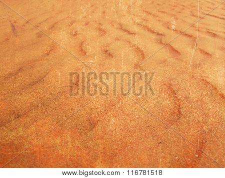 Desert sand background with grunge texture
