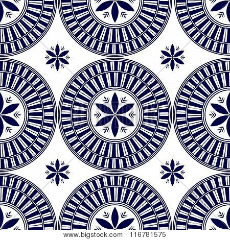 Seamless geometric background. Background with oriental ornaments. Moroccan style.