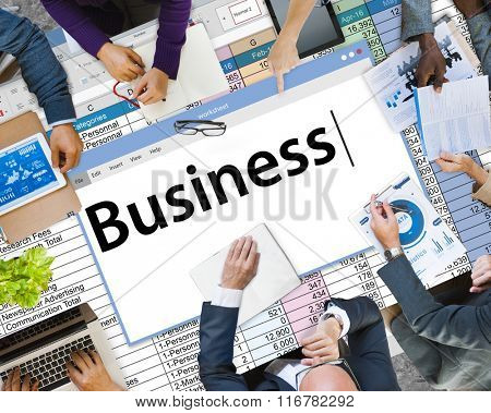 Business Startup Company Organization Development Concept
