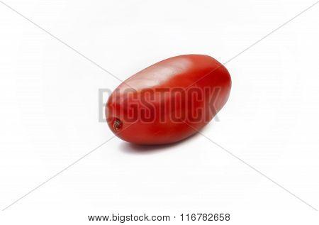 Oblong Tomato Isolated