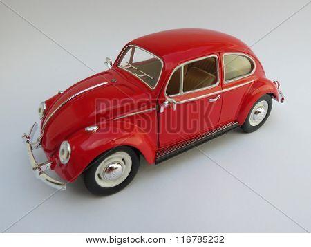 Red Volkswagen Beetle