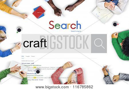Craft Art Professional Skilled Talent Concept