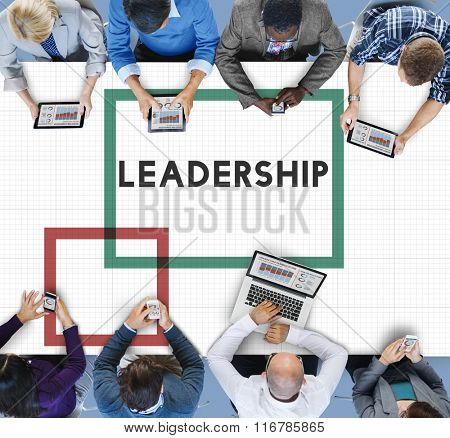 Leader Leadership Lead Boss Manager Concept