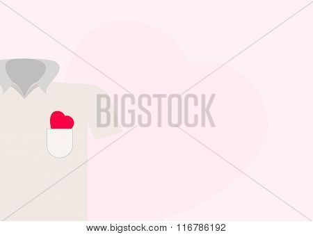 Heart In Shirt Pocket