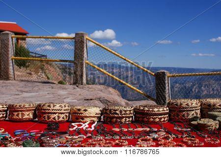 Tarahumara Made Souvenirs In Copper Canyons, Chihuahua, Mexico