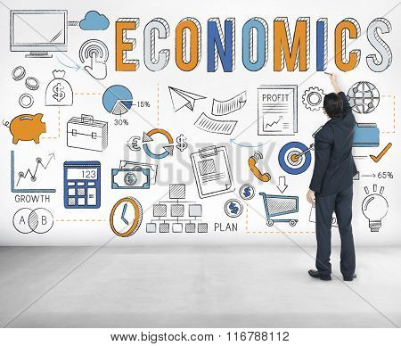 Finance Economics Savings Money Credit Concept