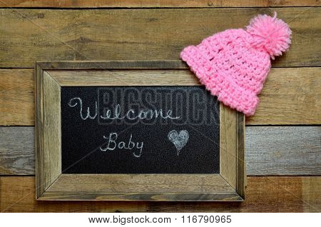 Welcome baby notice