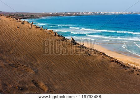 Beach and Dunes of Cape Verde