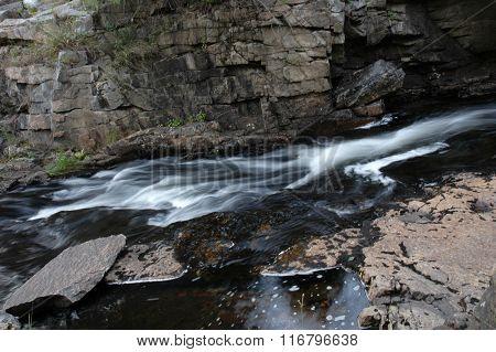 Flowing Stream - Bar Harbor, Maine
