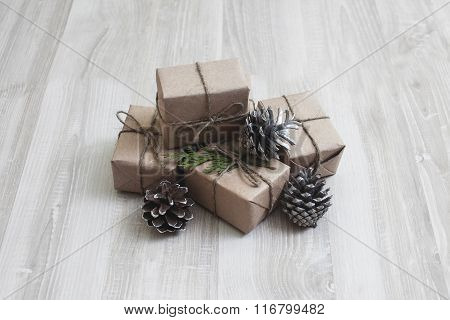 small presents in boxes