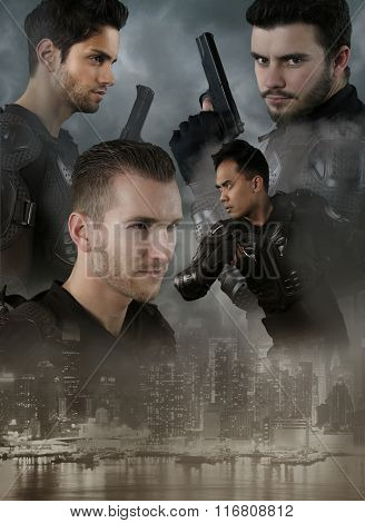 Super cops - four men of the special forces