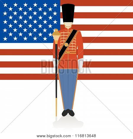 Conductor of of a military band USA