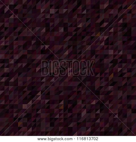 Seamless Vector Background. Dark Brown. Can Be Used In Cover Design, Book Design, Website Background