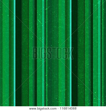 Vertical Stripes Pattern, Seamless Texture Background. Green Color. Ideal For Printing Onto Fabric A
