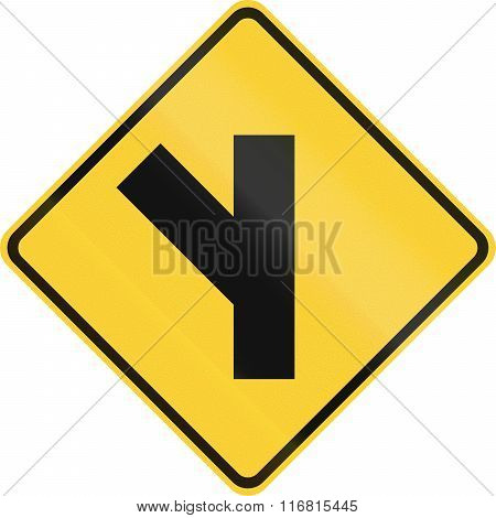 United States Mutcd Warning Road Sign - Intersection