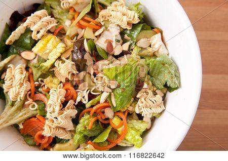 Ramen Noodle And Walnut Salad