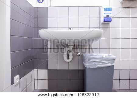 Sink On The Wall