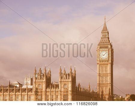 Big Ben London Vintage