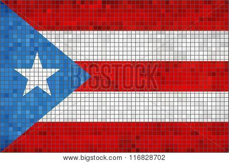 Flag Of Puerto Rico.eps