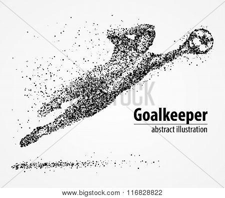 abstract, football, goalkeeper, athlete