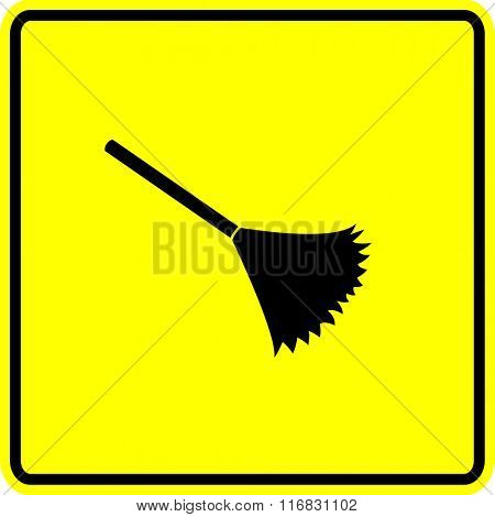 duster sign