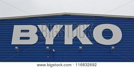 Byko Selfoss Logo Blue
