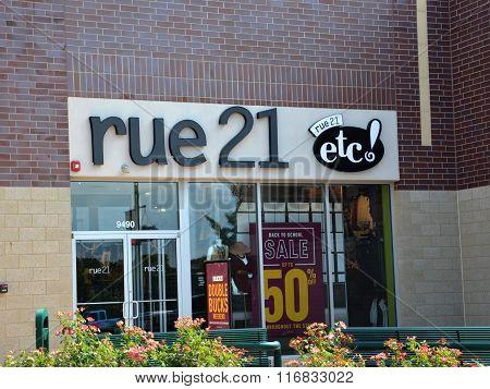 Rue21 Store