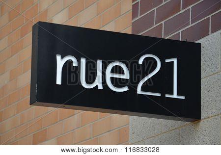 Rue21 Store Logo